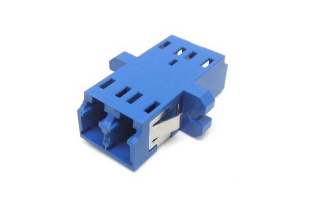 LC UPC Single Mode Duplex Adapter